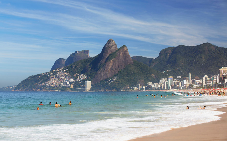 Mysterious Dunes, Beautiful Rio, Fantastic Waterfalls And Northeastern Beaches Of Brazil
