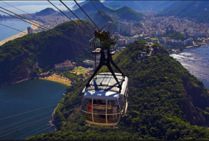 Cable cars to Sugar Loaf