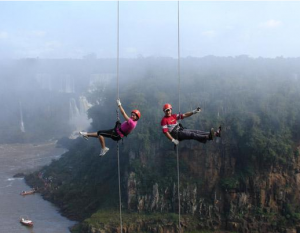 Rappel Excursion Tour At Iguassu Waterfalls